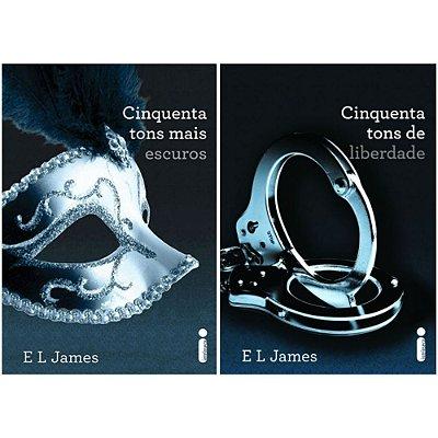 Kit Livros - Cinquenta Tons de Cinza - Editora Intrínseca