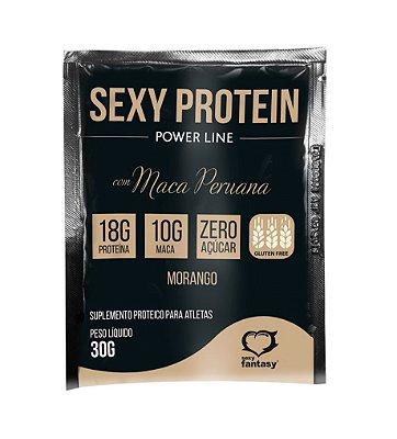 Shake Estimulante Sexual Aumenta Libido Sabor Morango