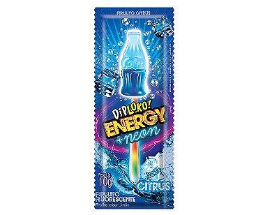 Pirulito com Neon que Brilha Escuro DipLoko! 01 - Unidades