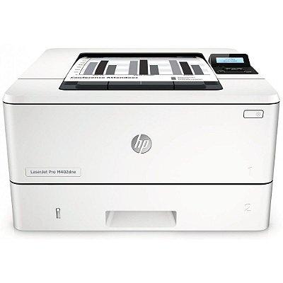 M402DNE - Impressora Laser Mono HP C5J91A Imprime 40ppm