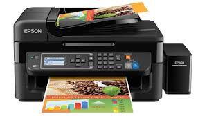 L575 - Multifuncional Epson Tanque de Tintas Ecotank Impressora, Copiadora e Scanner - Garrafa tinta Ecotank 664