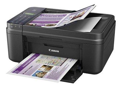 E481 - Multifuncional Jato de Tinta Canon Pixma  Impressora, Copiadora, Scanner, Fax e Wifi
