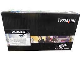 24B5807 - Toner Original Lexmark Preto 12.000Paginas aproximadamente em texto