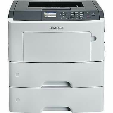M3150DN - Impressora Laser Mono Lexmark - Imprime 50ppm - Duplex automático - Porta Usb, Paralela e Rede com fio