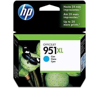 951XL Cartucho Original HP CN046AL Ciano - Relacionados CN045AL CN046AL CN047AL CN048AL