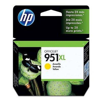 950XL Cartucho Original HP CN048AL Amarelo - Relacionados CN045AL CN046AL CN047AL CN048AL
