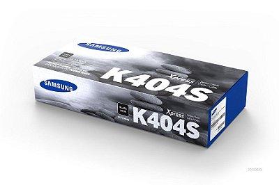CLT-K404S - Toner Original Samsung CLTK404S Preto 1.500Páginas aproximadamente em texto