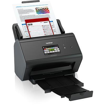 ADS-2800W - Scanner Brother ADS2800W - Scanner de Documentos com Rede Wireless