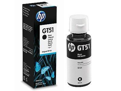 GT-51 - Garrafa de Tinta HP  GT51 M0H57AL GT51 Preto 5.000Páginas Aproximadamente
