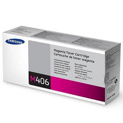 CLT-M406S - Toner Original Samsung CLTM406S Magenta 1.000Páginas - Relacionados CLT-C406S CLT-K406S CLT-Y406S