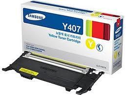 CLT-Y407S  - Toner Original Samsung CLTY407S Amarelo 1.000Páginas