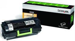 52DBX00 - Toner Original Lexmark 524X - Preto 45.000Páginas aproximadamente - Produtos relacionados MS812DN / MS811DN / MS812DE / 52DBX00 / 524X