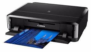 IP7210 - Impressora fotográfica Canon IP-7210 Wi-Fi, Duplex automático e Direct Disc Print Impressão Direta em Disco