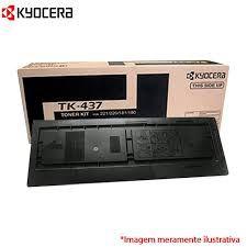 TK-437 - Toner Kyocera Original TK437 Preto - Rendimento 15.000Página aproximadamente em texto