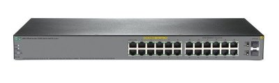 24 portas - JL384A - Switch Gigabit Aruba OfficeConnect HP 1920s 24xGigabit  L3 Gerenciável