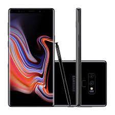"""Samsung Galaxy Note9 Preto, com Tela de 6,4"""", 4G, 128 GB e Câmera de 12+12 MP - SM-N9600 - SM-N9600ZKJZTO"""