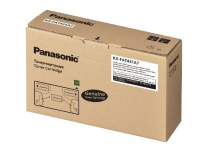 KX-FAT431A-D - Toner Panasonic Preto Autonomia para 12.000 Paginas