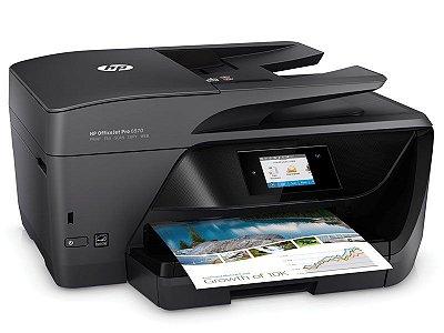 6970 - Multifuncional Jato de Tinta Colorida HP - Imprimer, Copia, Digitaliza, Fax, Wifi e Duplex ADF