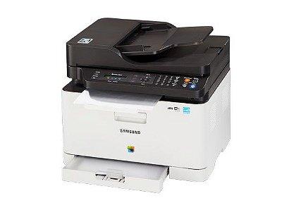 C480FW - Multifuncional Laser Colorida Samsung, 18ppm, Porta Usb e Wifi, Impressora, Copiadora, Scanner, fax e Wafi.
