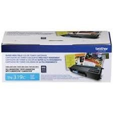 TN319C - Toner Original Brother TN-316C Ciano Autonomia 6.000Paginas