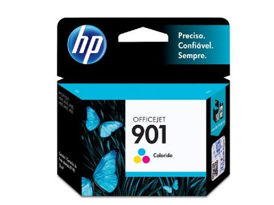 901 Catucho Original HP CC656AB Tricolor 360Páginas aproximadamente