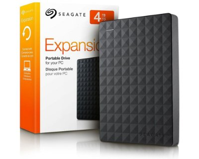 4TB - HD Externo Seagate STEA4000400 Expansion Portátil