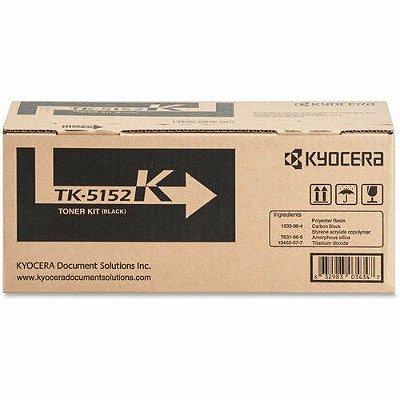 Original TK-5152K Toner Kyocera Preto TK5152K Autonomia 12.000Páginas