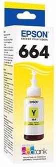 Refil de Tinta EPSON T664120 T6641 Amarelo