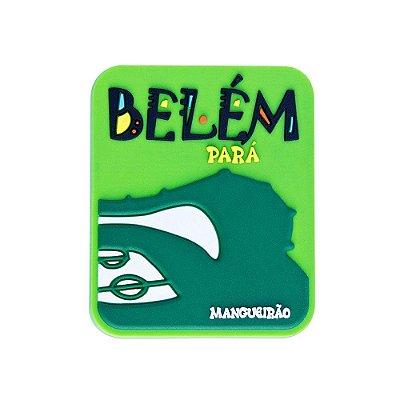 Imã emborrachado alto-relevo Mangueirão - Belém