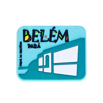 Imã emborrachado alto-relevo Forte do Presépio - Belém