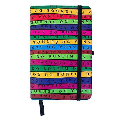 Caderninho de anotações tipo Moleskine Bonfim - Bahia
