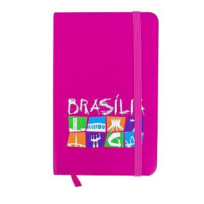 Caderninho de anotações escrito pink - Brasília
