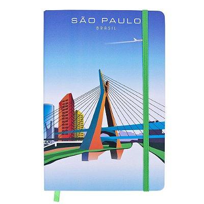 Caderno de anotações monumentos - São Paulo