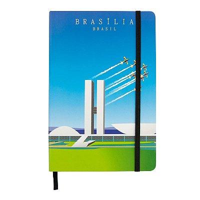 Caderninho de anotações monumentos - Brasília