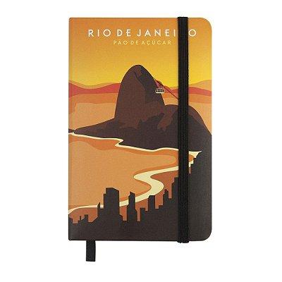Caderninho de anotações tipo Moleskine Pão de Açúcar - Rio de Janeiro