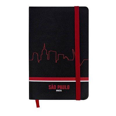 Caderninho de anotações skyline - São Paulo