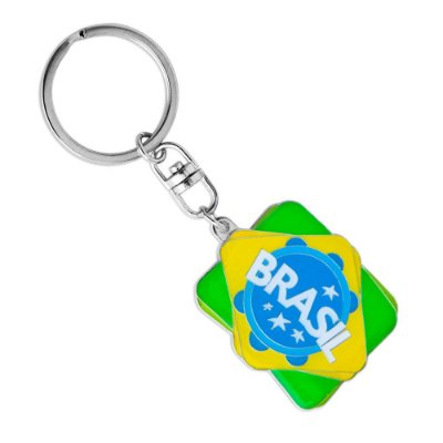 Chaveiro de metal Rio samba - Brasil