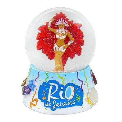 Globo de neve carnaval - Brasil