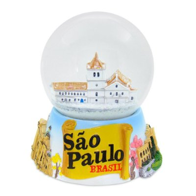Globo de neve histórica - São Paulo