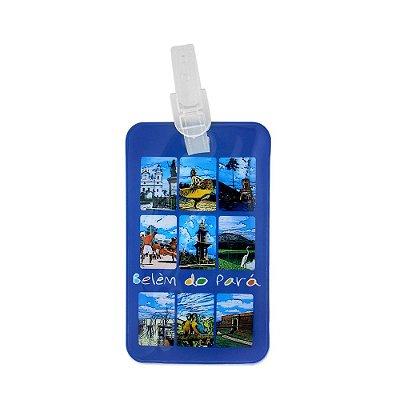 Identificador de bagagem PVC pontos turisticos - Belém