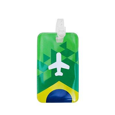 Identificador de bagagem PVC triangulos - Brasil