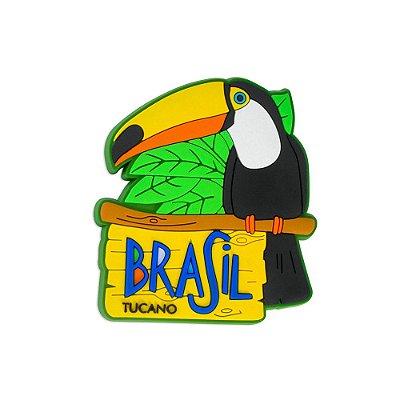 Imã de geladeira tucano - Brasil