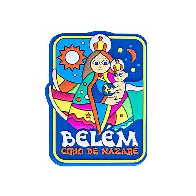 Imã de geladeira Círio de Nazaré - Belém