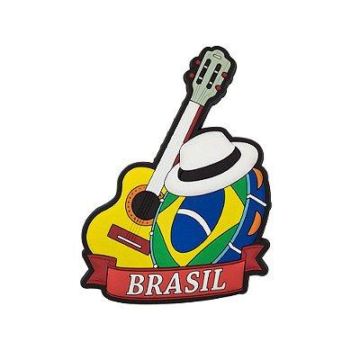 Imã de geladeira pandeiro - Brasil