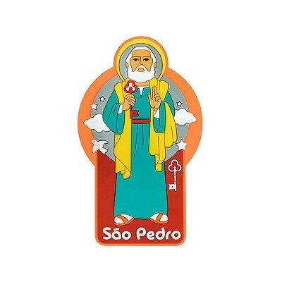 Imã de geladeira São Pedro - Religioso