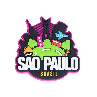 Imã de geladeira viagem - São Paulo