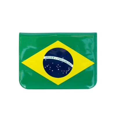Porta-moedas verde escuro - Brasil