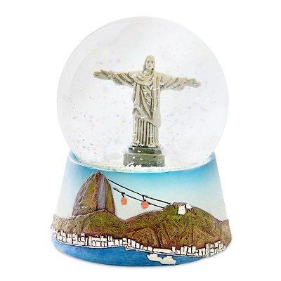 Globo de neve cristo - Rio de Janeiro