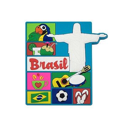 Imã de geladeira ícones do Rio - Rio de Janeiro
