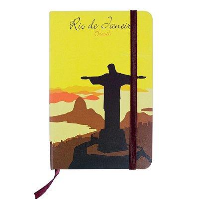 Caderninhos de anotações Cristo - Rio de Janeiro - A5 e A6